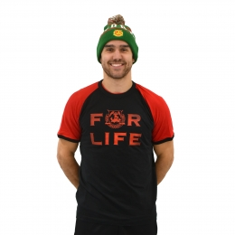 FOR LIFE Raglan T-Shirt