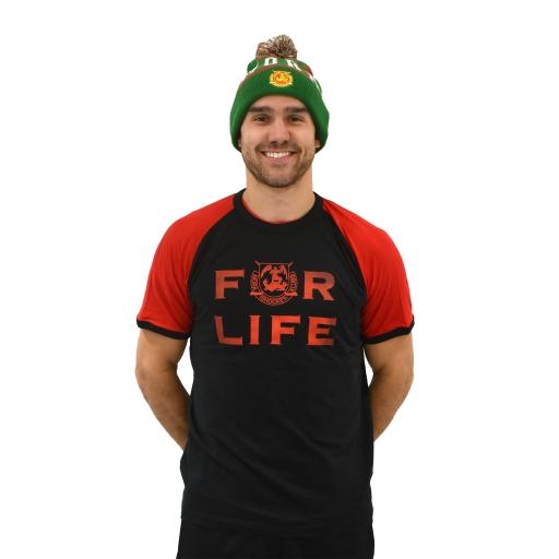 FOR LIFE Raglan T-Shirt