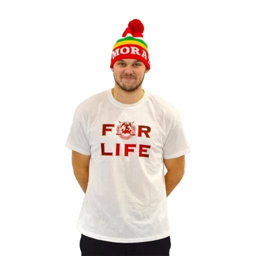 FOR LIFE T-Shirt Vit