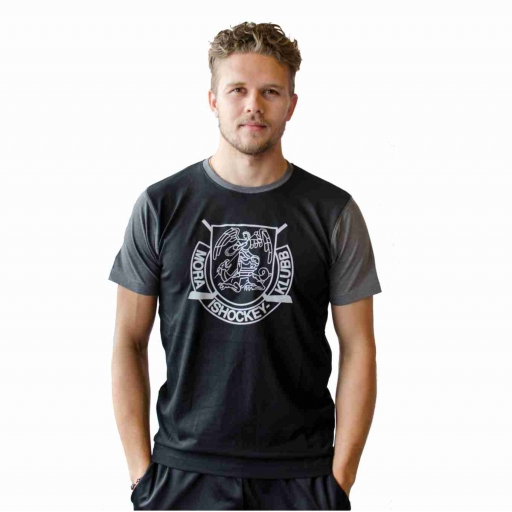 T-Shirt Kort Ärm Svart/Grå