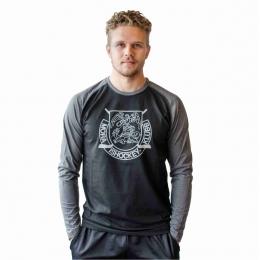 T-Shirt Lång Ärm Svart/Grå