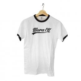 T-Shirt Vit/Svart Baseball
