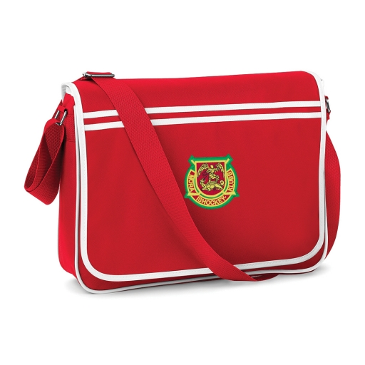 Väska Messenger Röd